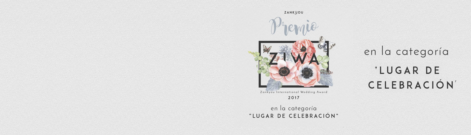 Premios ZIWA - Zankyou International Wedding Awards de 2016